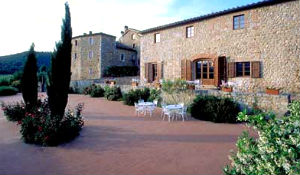 Relais Borgo of Stigliano, in the Tuscan countryside